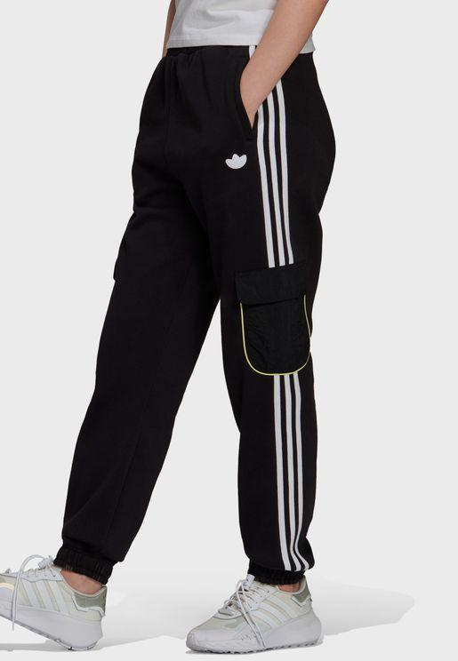 3 Stripe Cuffed Sweatpants