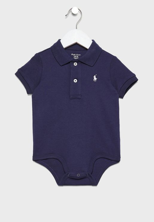 Infant Shirt Look Bodysuit