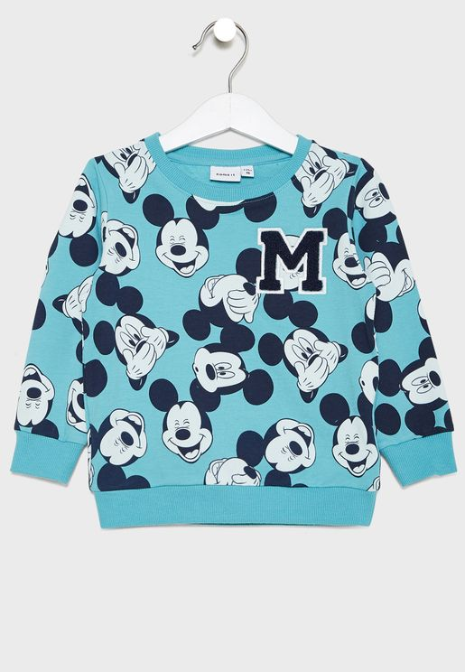 Kids Mickey Sweatshirt