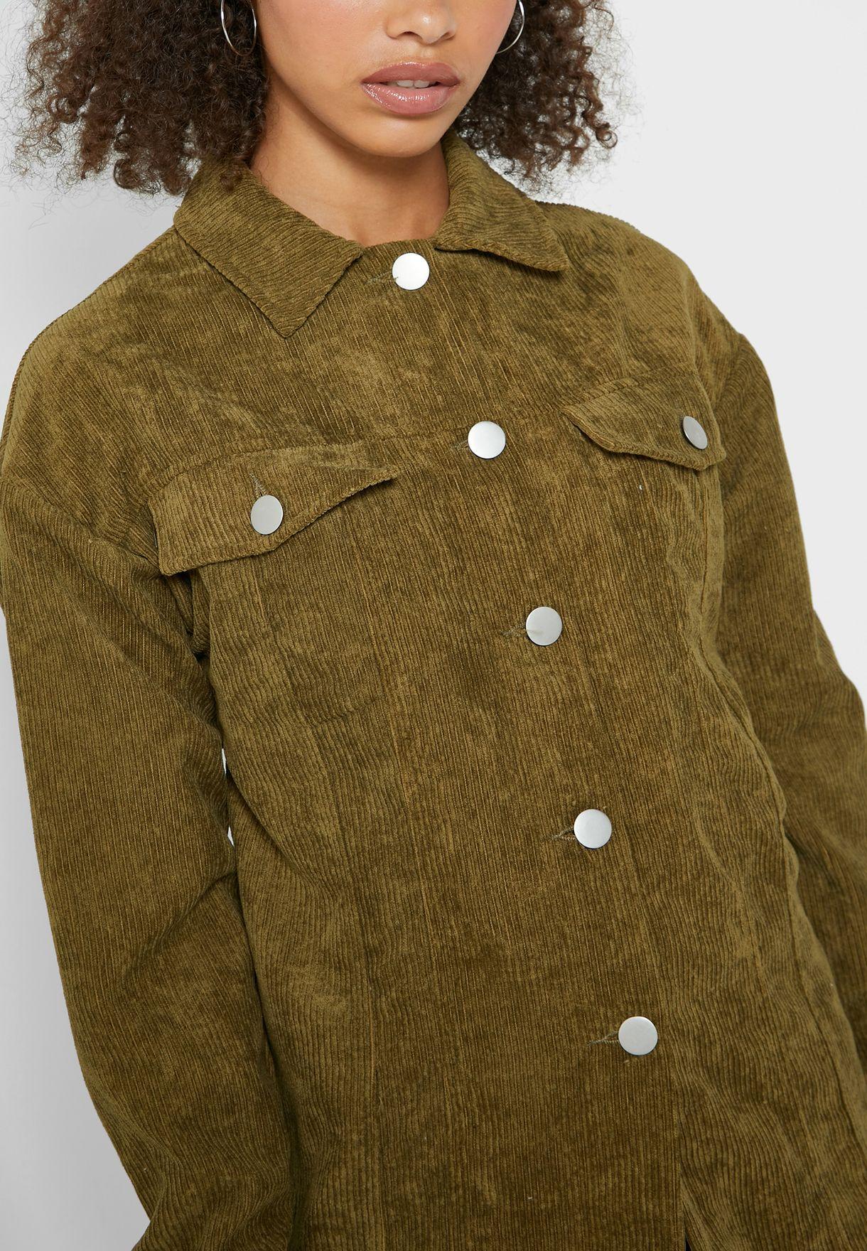 Corduroy Utility Jacket