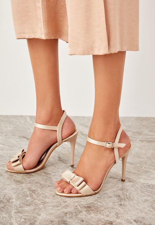 Knot Sandal - Beige