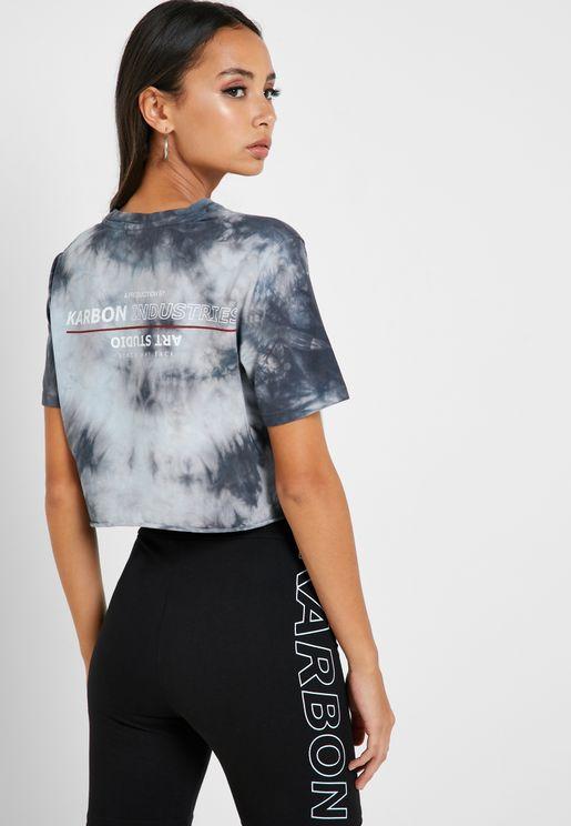 Palms Cropped T-Shirt
