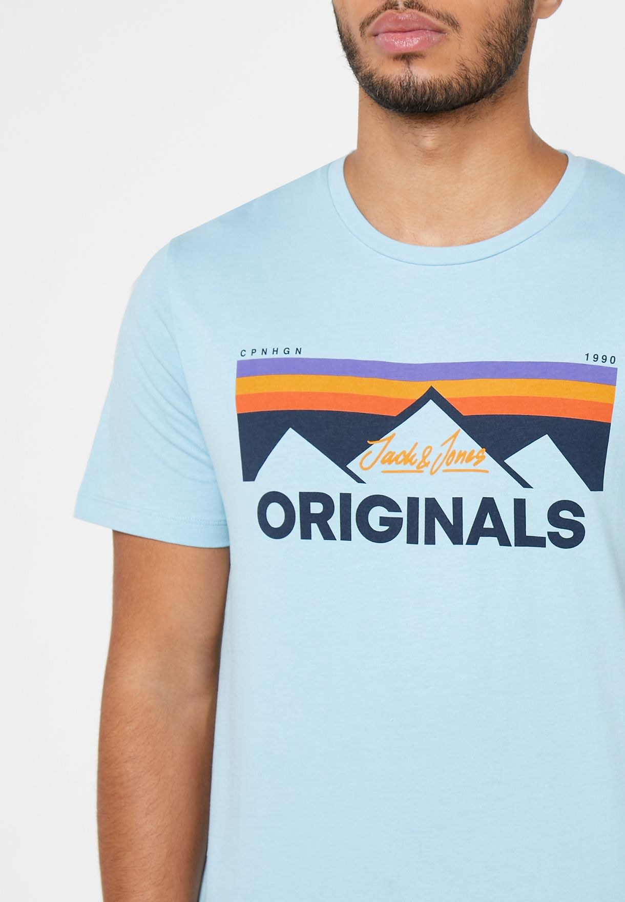 Dorsey Logo Crew Neck T-Shirt