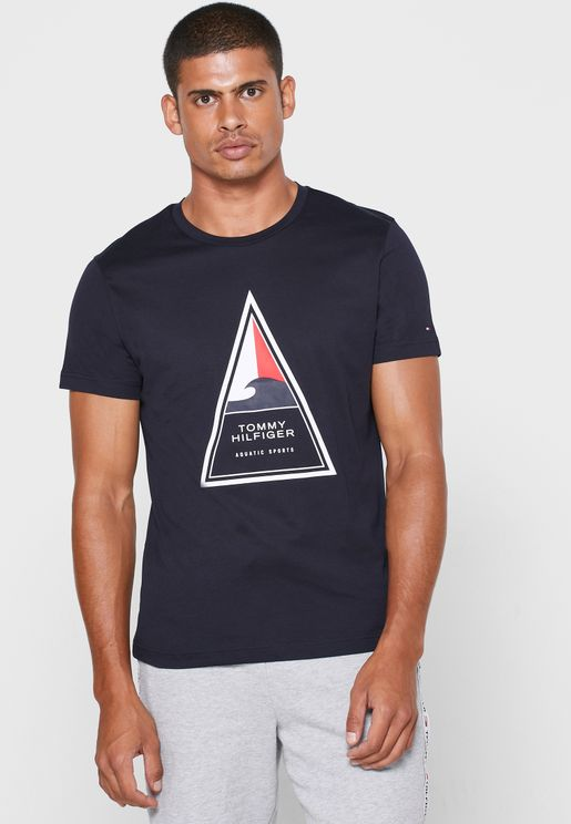 Cool Triangle Crew Neck T-Shirt