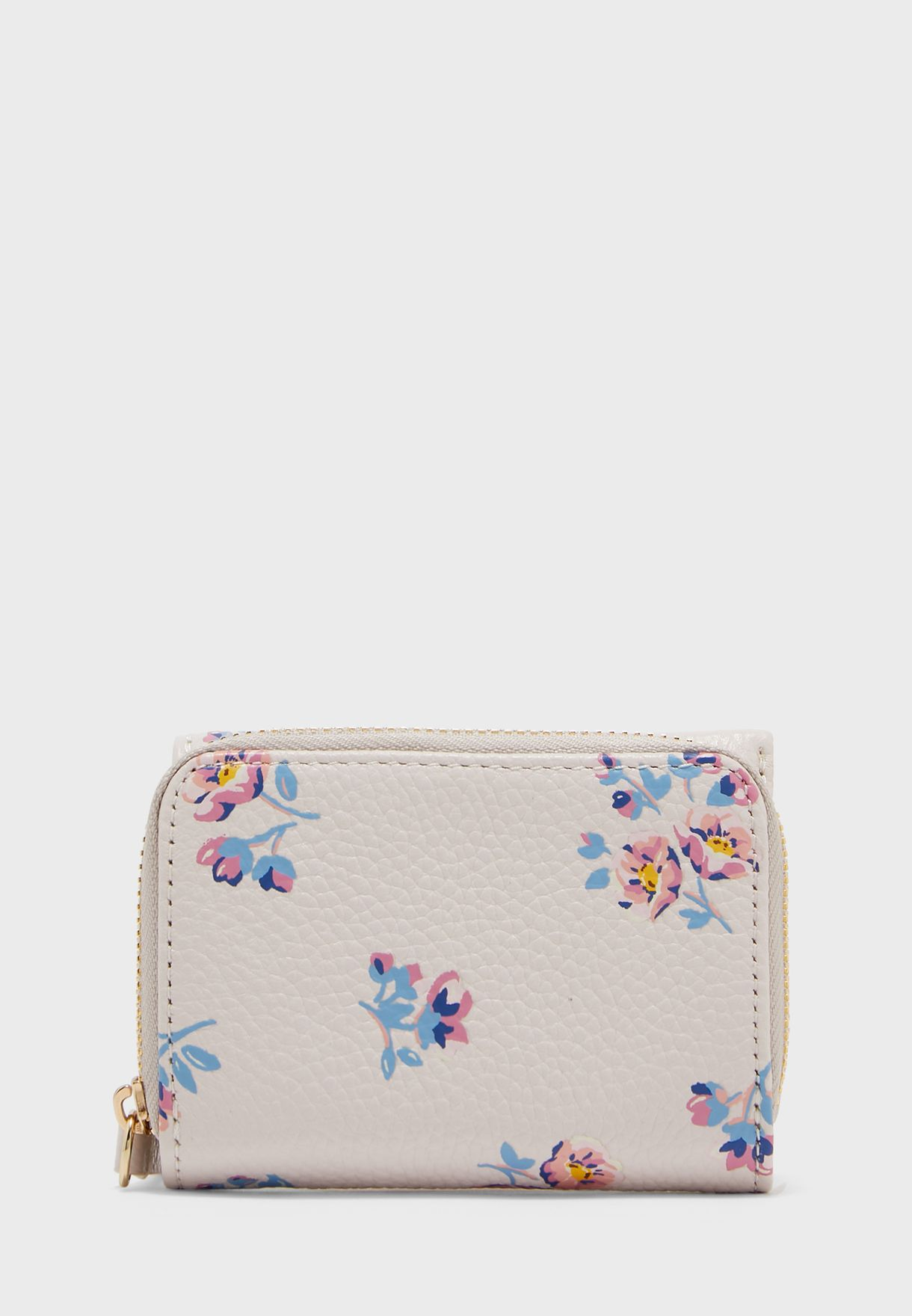 Printed Small Compact Purse