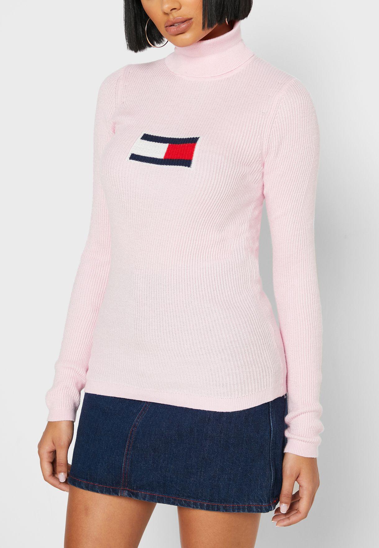 Roll Neck Logo Sweater