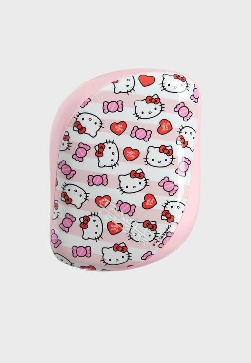 Compact Hello Kitty Candy Stripes Comb