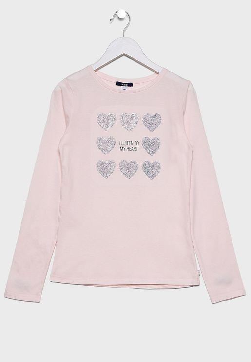 Teen Sequin T-Shirt