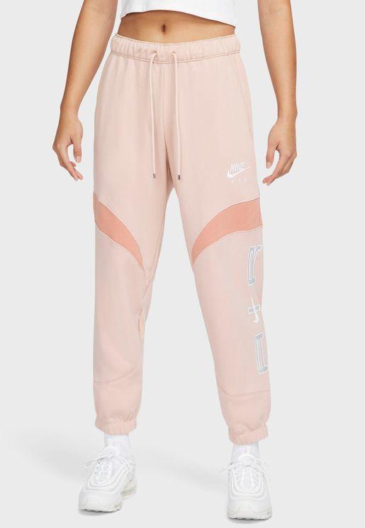Nsw Air Fleece Mid Rise Sweatpants