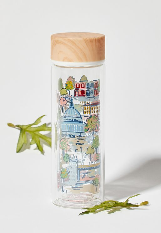 Mini London View Water Bottle