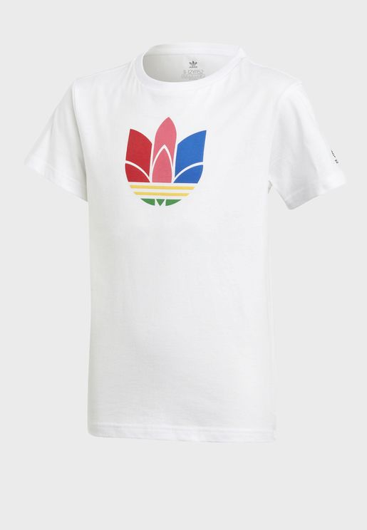 3D Adicolor Casual Unisex T-Shirt