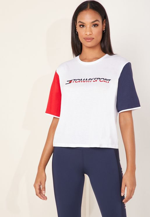 Logo Colour Block T-Shirt
