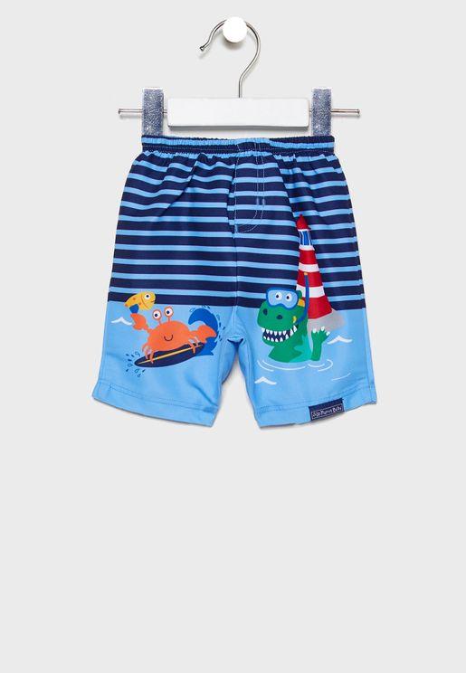 Kids Scenic Swim Shorts