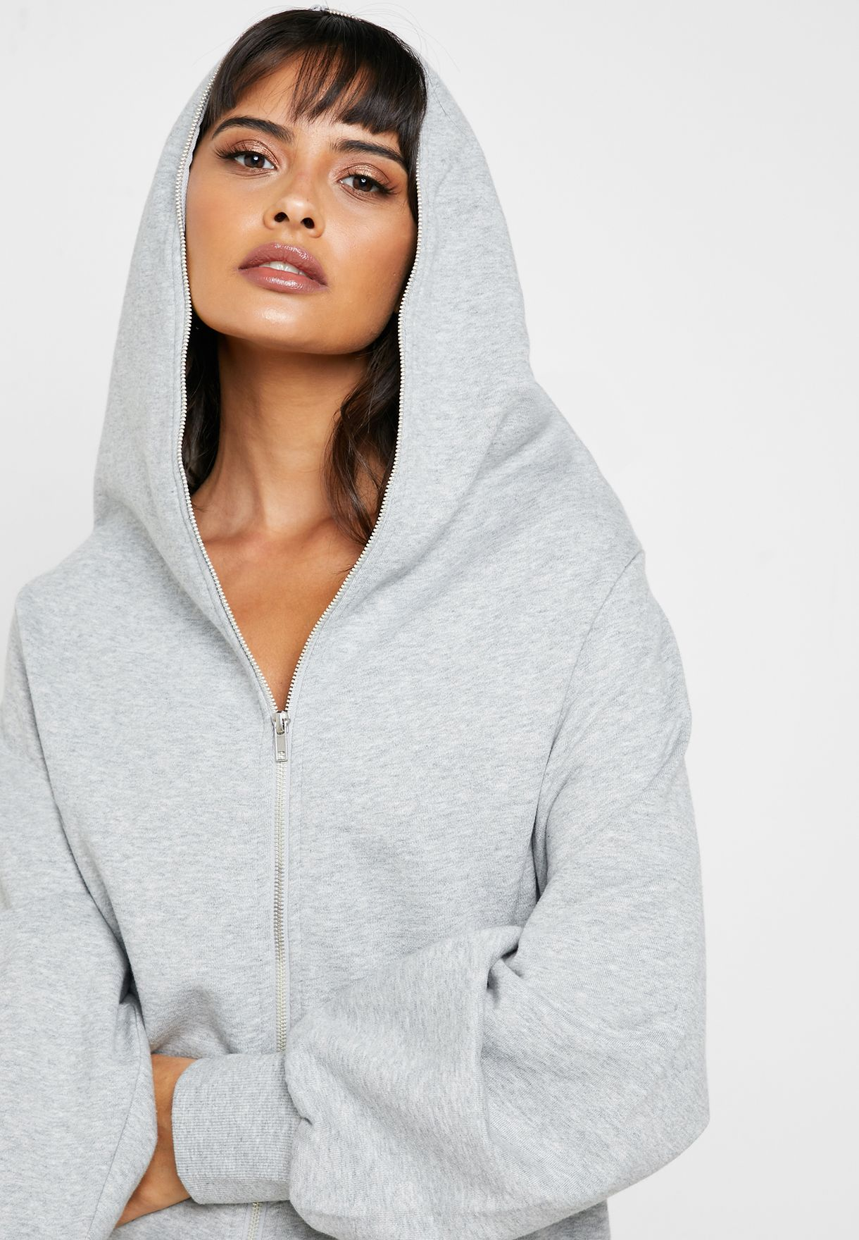 Longline Hooded Jacket