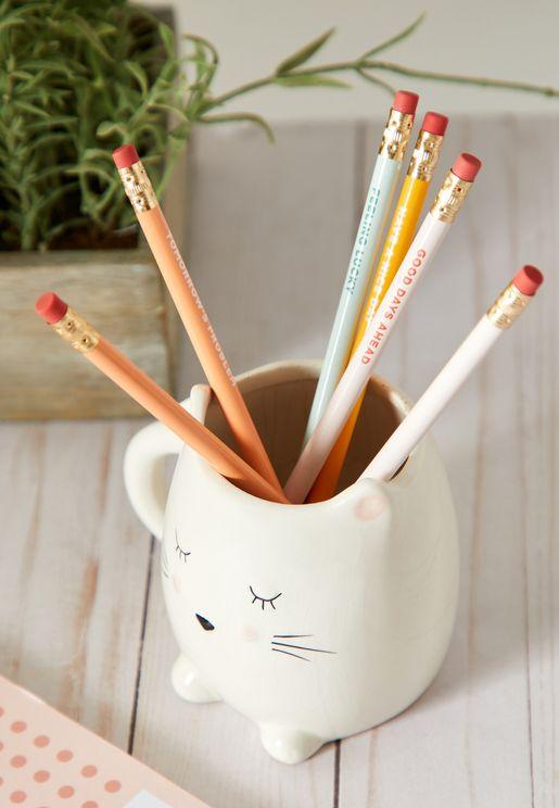 6 Pack Quote Pencils