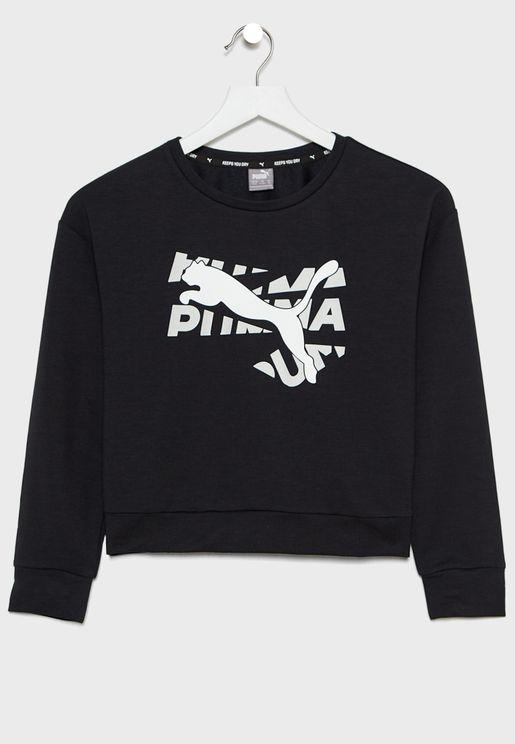 Kids Modern Sports Sweatshirt