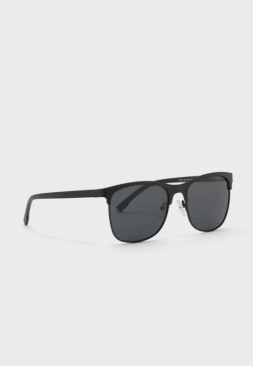 Polarized Casual Clubmaster Sunglasses