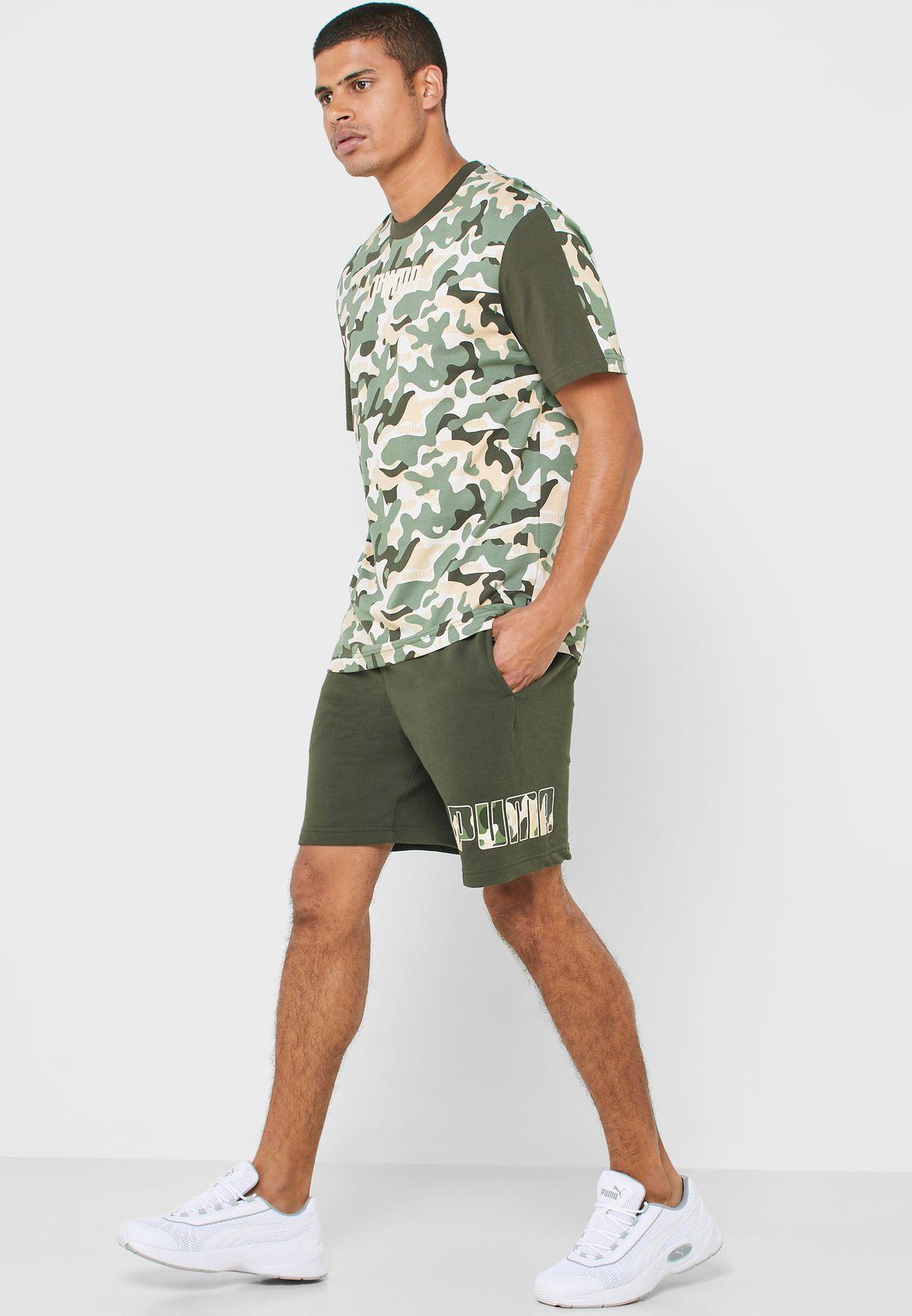 "9"" Rebel Camo Shorts"