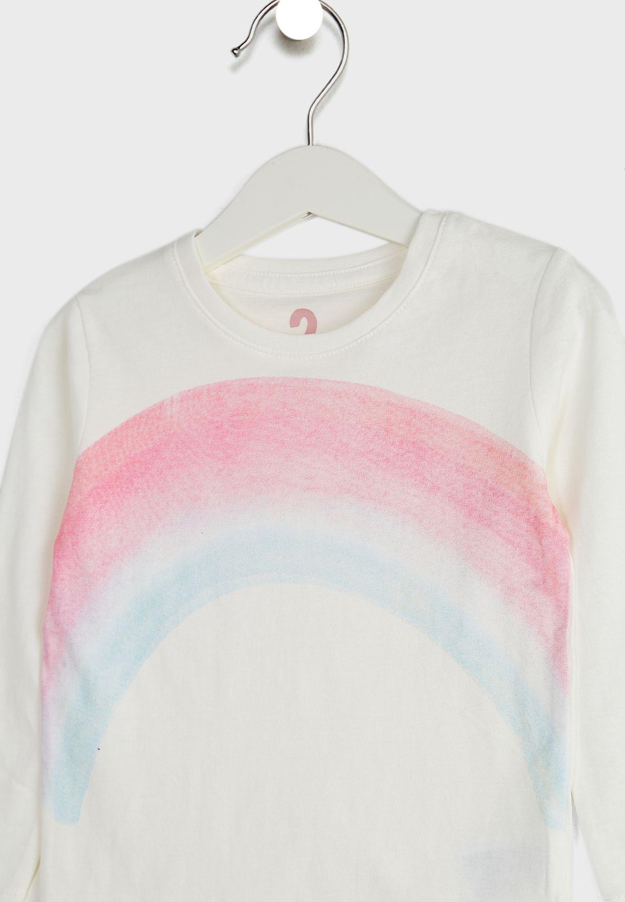 Kids Watercolour Rainbow