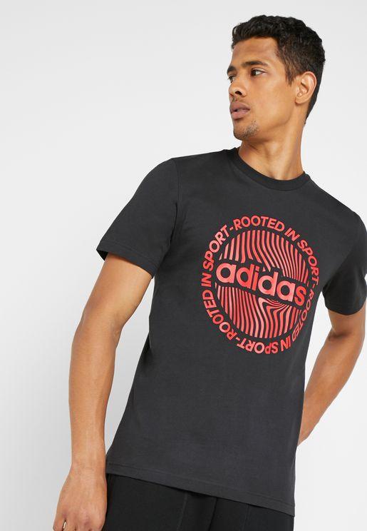 bc77011c6aad Circled Graphic T-Shirt