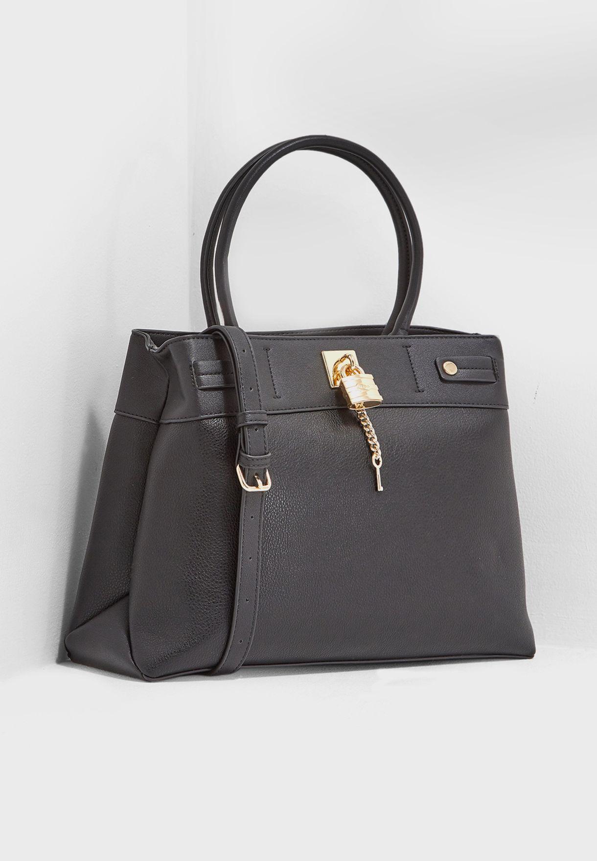 b2c15da0992 Shop Aldo black Genualdi Large Tote GENUALDI98 for Women in UAE ...