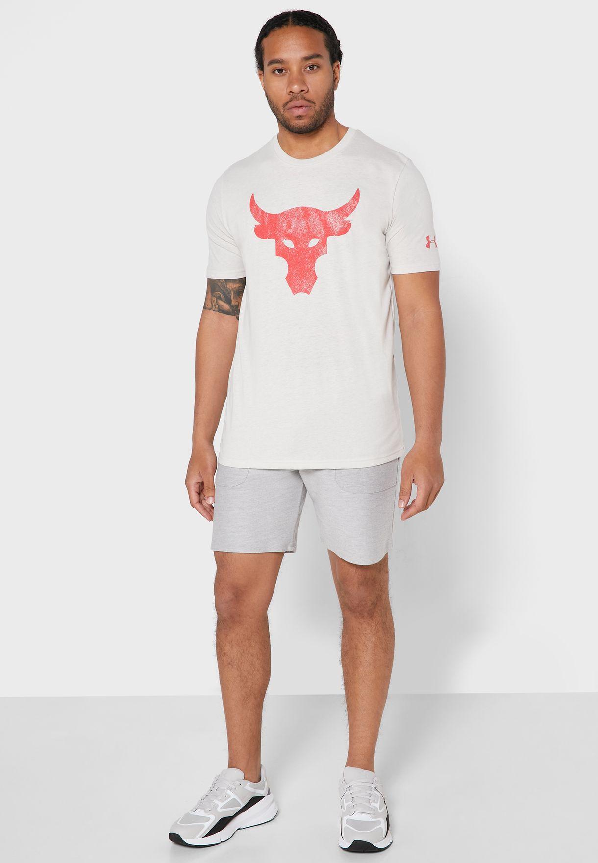 Under Armour Project Rock Brahma Bull T-shirt - Fashion
