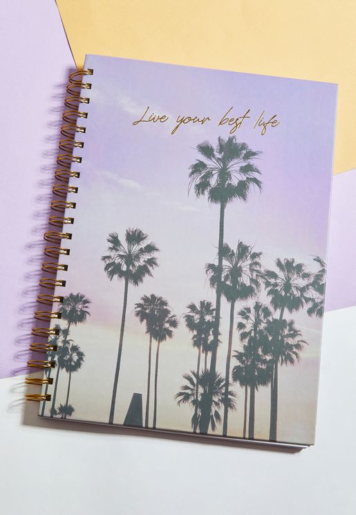 A4 Live Your Best Life Notebook