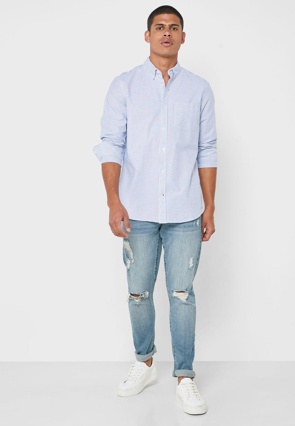 Stripe Relaxed Shirt