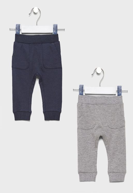 Infant 2 Pack Classic Sweatpants