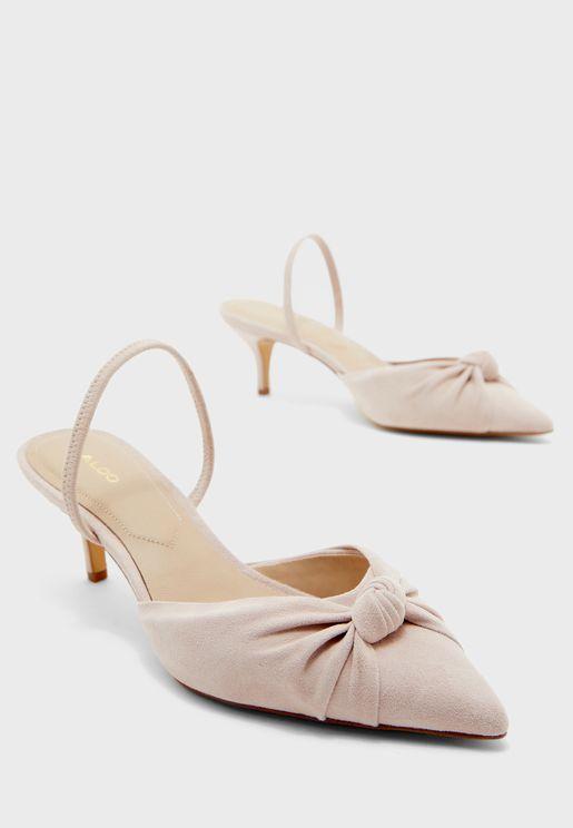 حذاء بسير على الكاحل