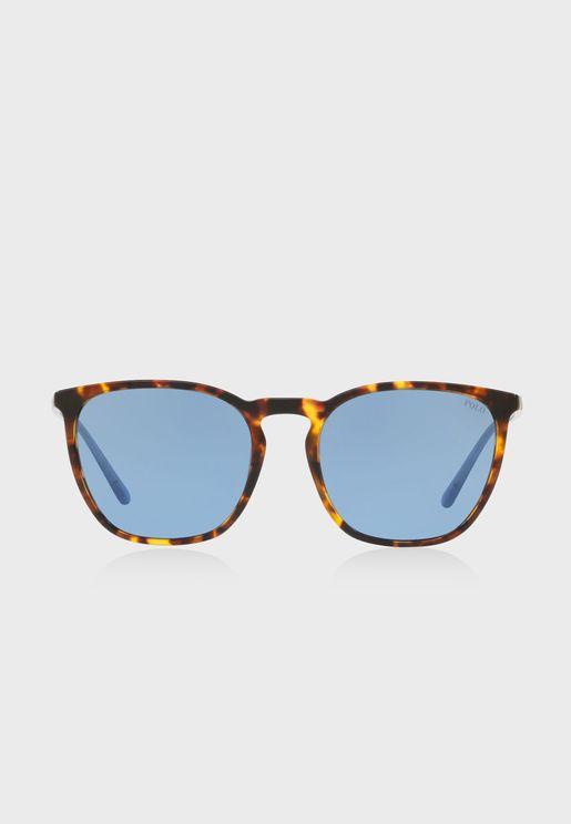 a6ea2831b85 0PH4141 Aviator Sunglasses
