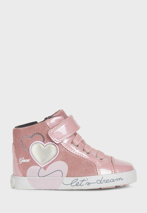 Kids Kilwi Velcro High Top Sneaker