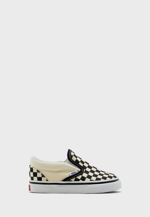Infant Checkerboard Classic Slip-Ons