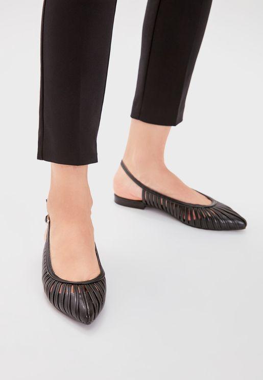 Ankle Strap Low Heel Pump