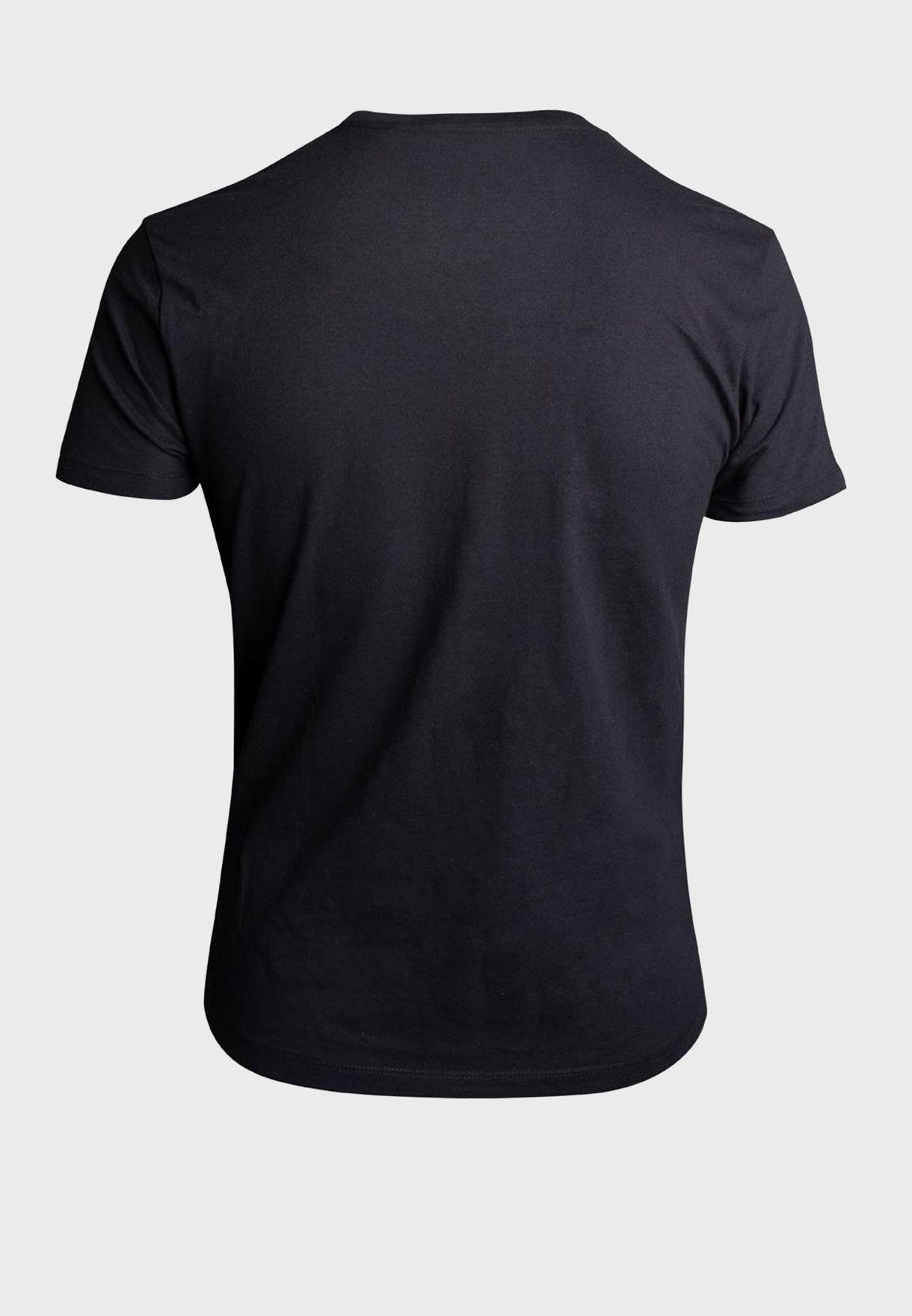 Nintendo Bowser Squad Crew Neck T-Shirt