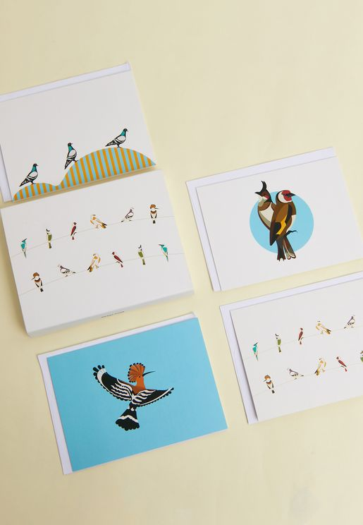 Set Of 10 Sarb Greeting Cards With Envelopes