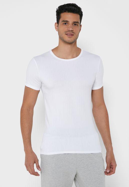 3 Pack Logo Crew  Neck T-Shirt