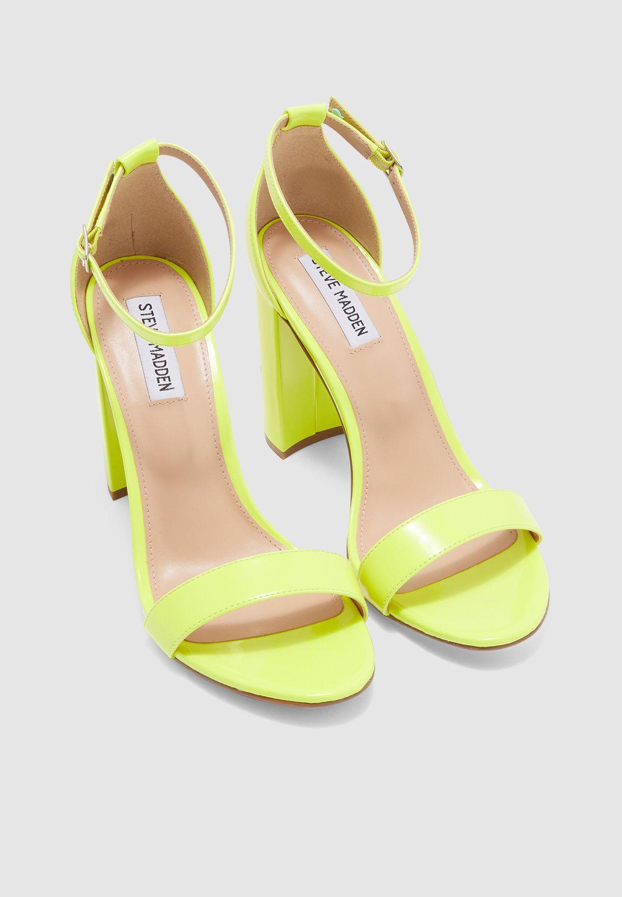 Carrson Sandal - Yellow