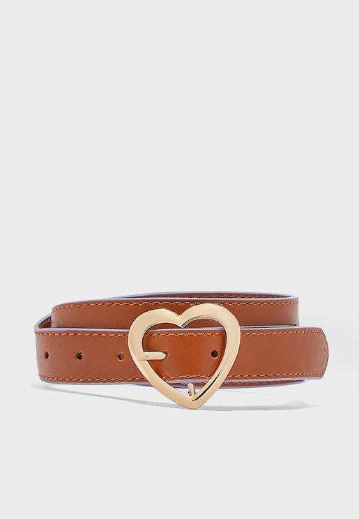 حزام بحلية قلب