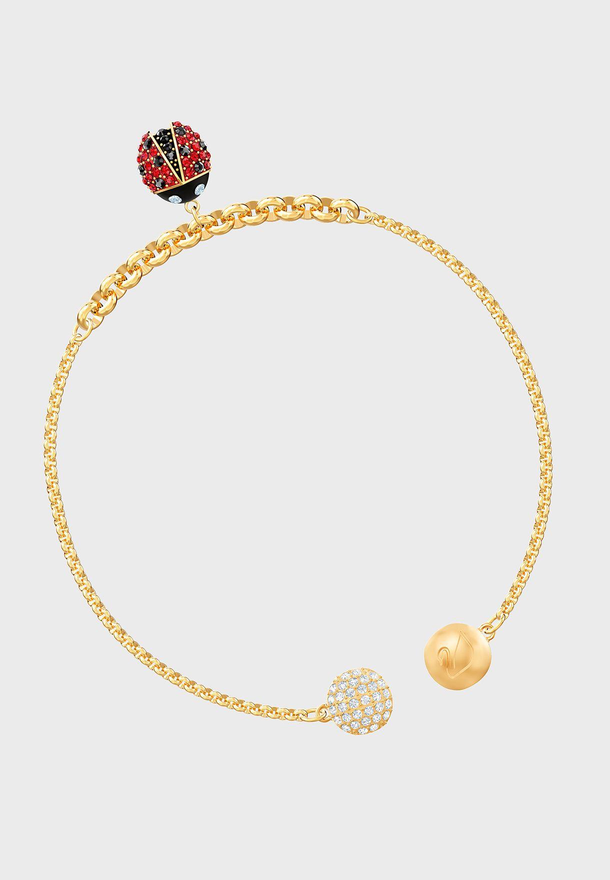 Swarovski Remix Strand Ladybug Bracelet