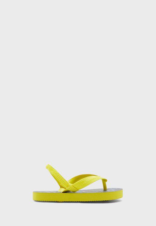 Infant Printed Slingback Flip Flop