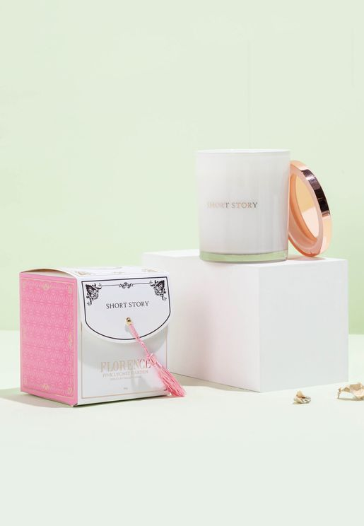 Florence & Pink Lychee Candle