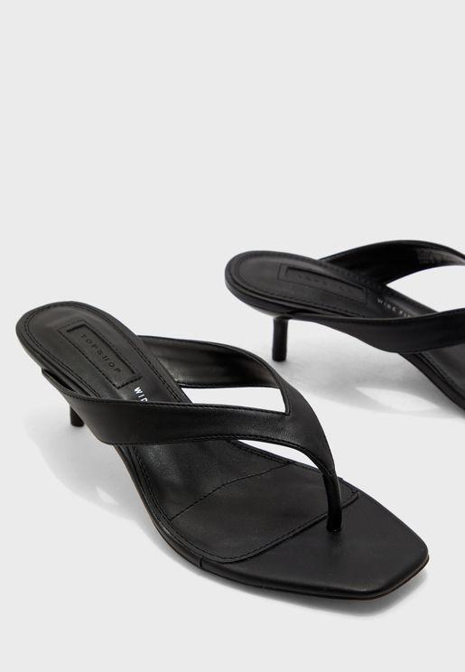 Wide Fit Nina Mini Heel Sandal