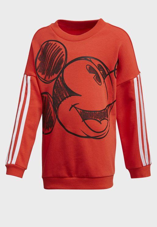 Kids Disney Mickey & Minnie Sweatshirt