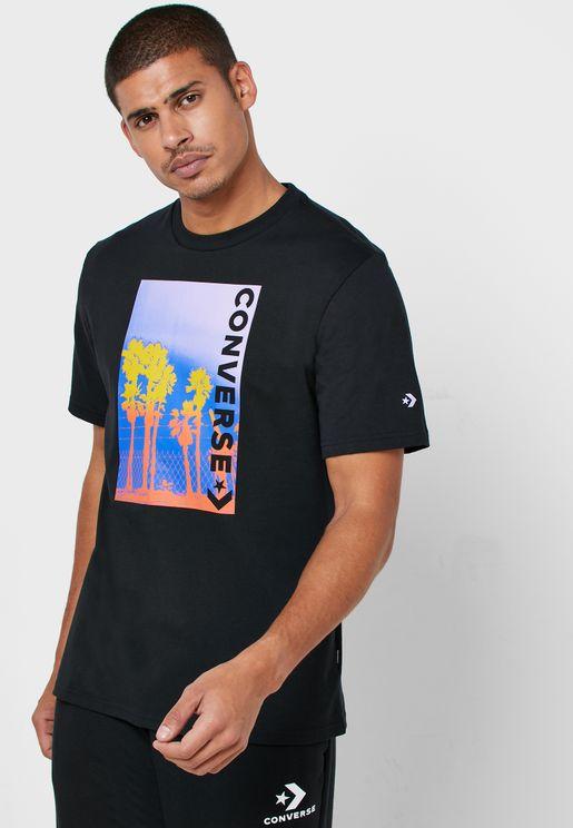 Palm Tree Photo T-Shirt