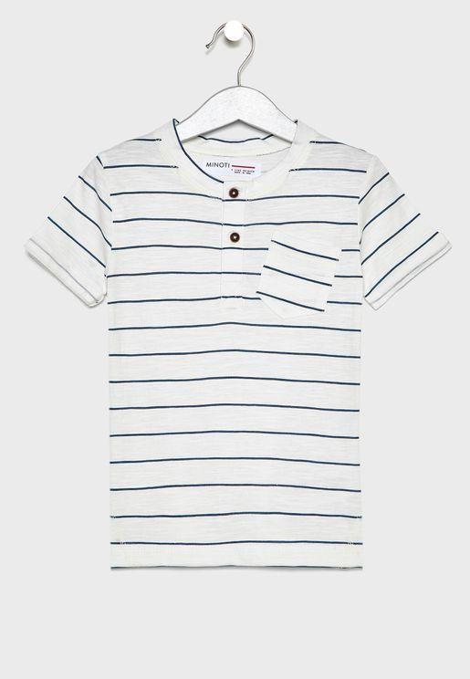 075c066cd0a422 Kids Striped T-Shirt