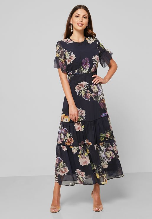 Winnie Floral Print Dress