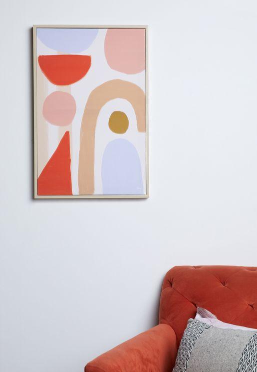 لوحة فنية جدارية 40 ×60