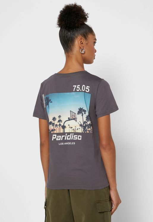 Graphic Back T-Shirt
