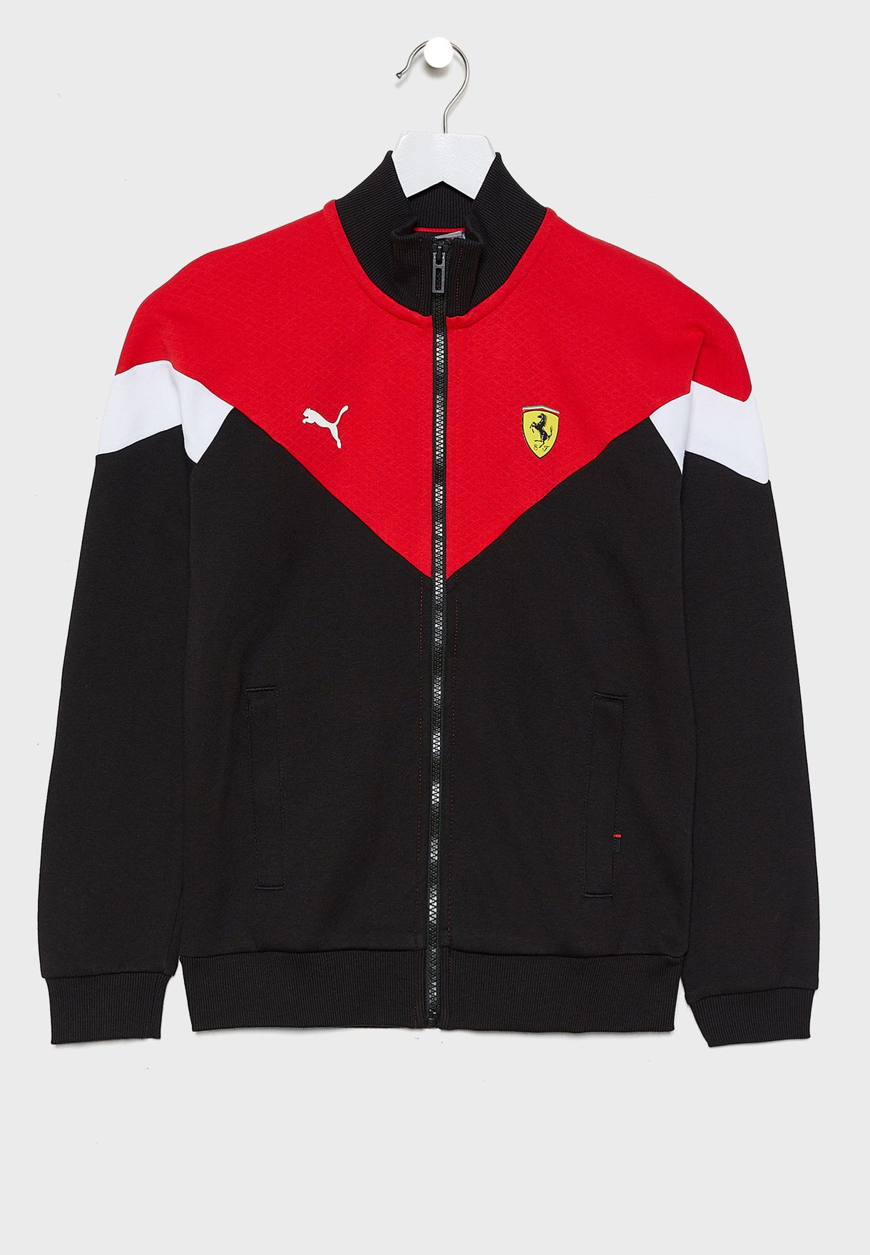 Kids Ferrari Race MCS Track Jacket